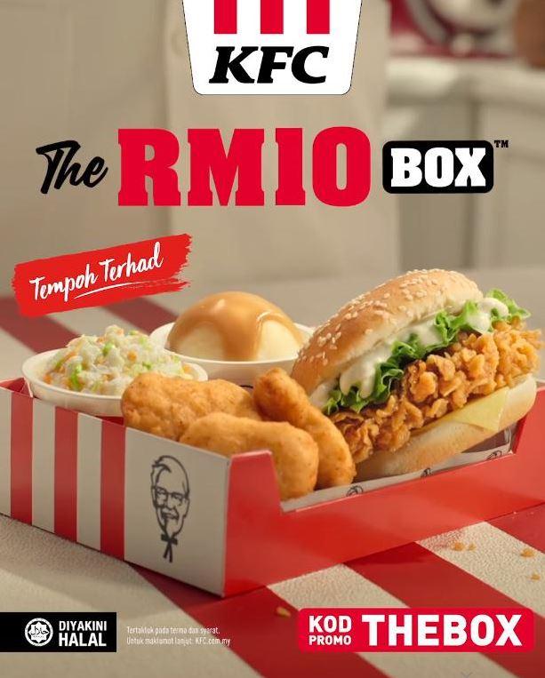 KFC RM10 Box