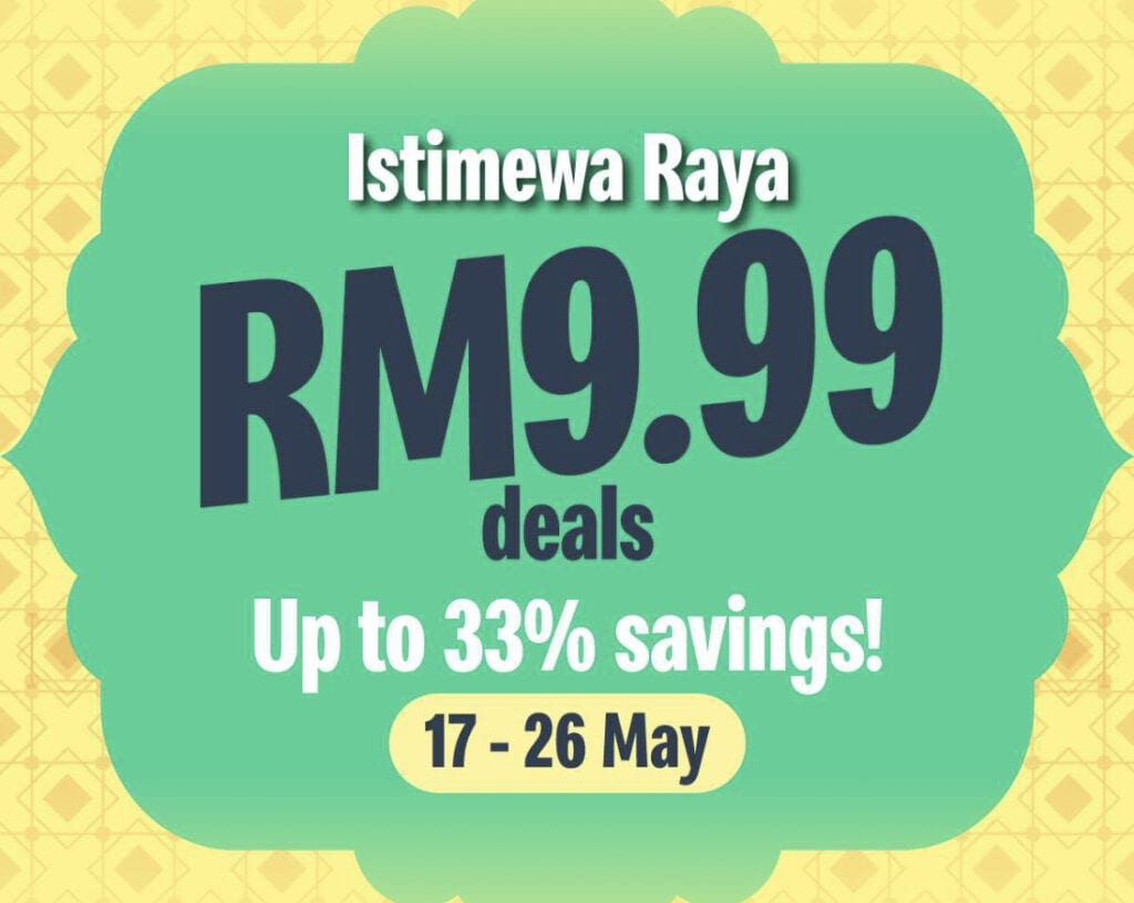 McD Raya RM9.99 33%