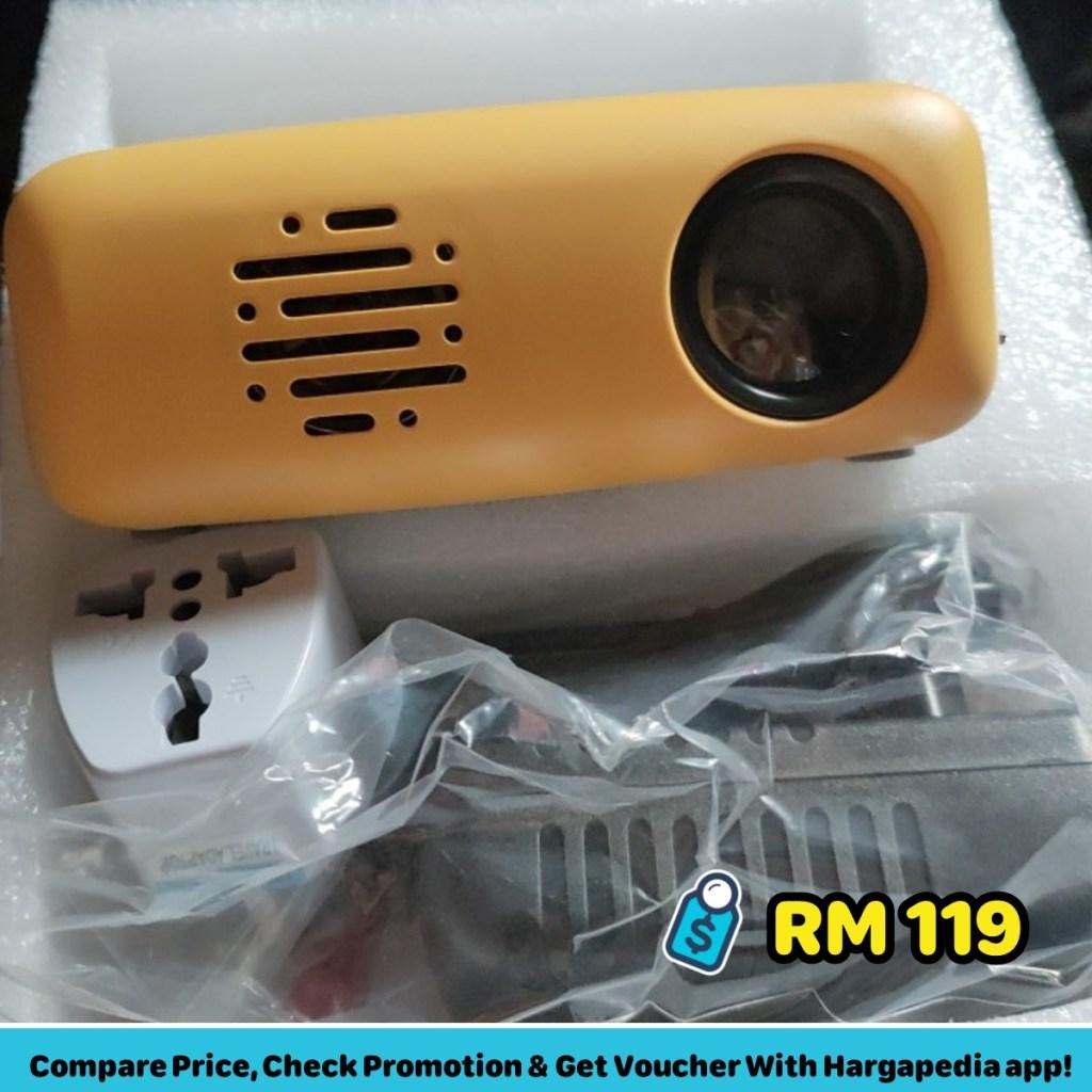 cs03 mini led smart home projector