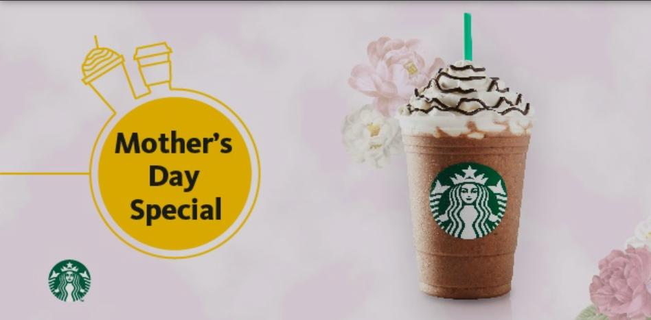 Starbucks Mother's day special