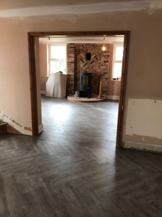 Premium Wood Church Pine (fitted by Featherby Flooring)