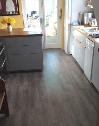 Kirsty's kitchen in Premium Wood Church Pine