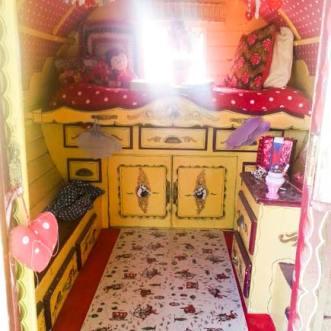 gypsy caravan flooring