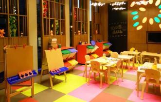 multicoloured flooring