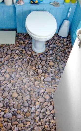 Tony's bathroom in Imagination River Rock