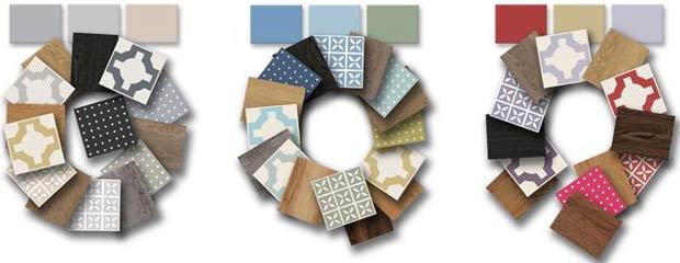 flooring colour palettes