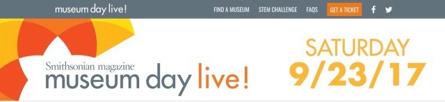 Smithsonian Museum Live Day graphic