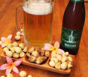 beer-and-macadamia-nuts