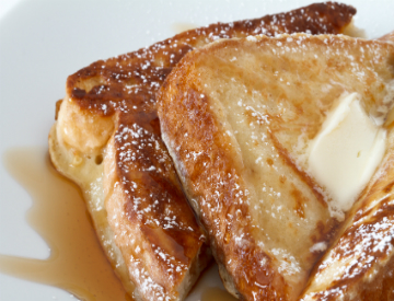 Try this awesome french toast recipe using our Hawaiian Kau coffee. ©iStockphoto.com/MariuszBlach