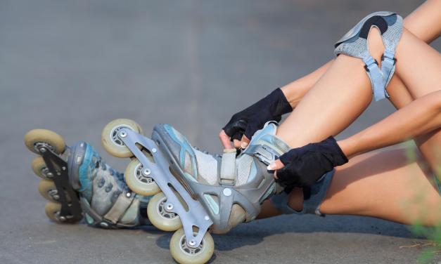 Quais são os equipamentos ideais para começar a andar de patins?