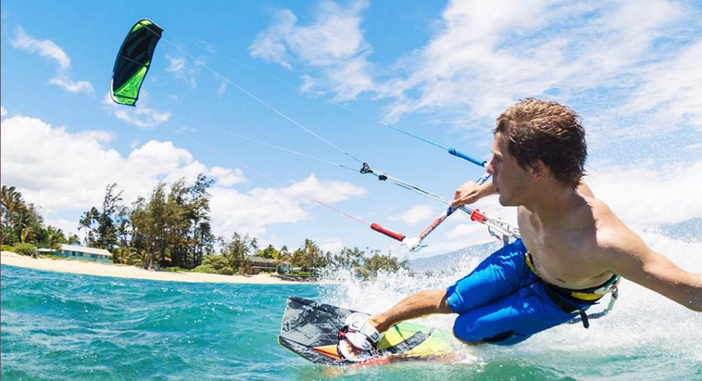 KiteSurf - um dos esportes radicais