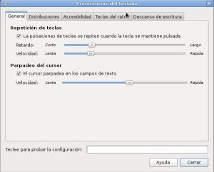Configurar teclado
