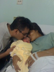 Con papá y mamá