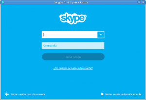 Skype Linux 09