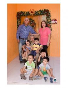 Abuelos y bisnietos