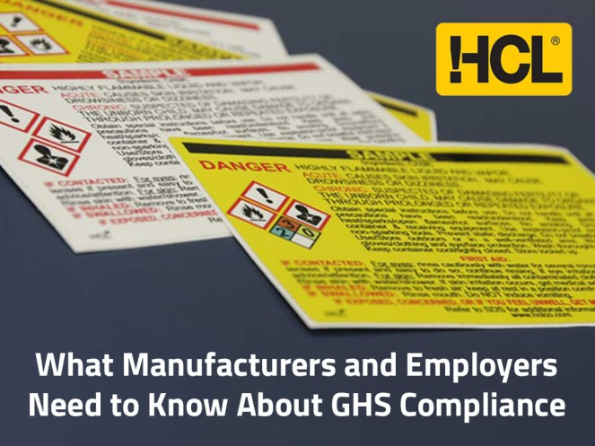What Manufacturers and Employers Need to Know About GHS Compliance