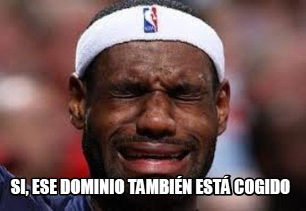 Dominio Cogido Meme Lebron James