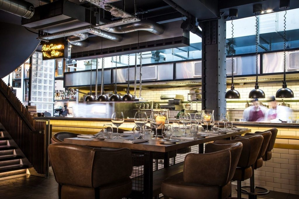private dining room at Heddon Street Kitchen