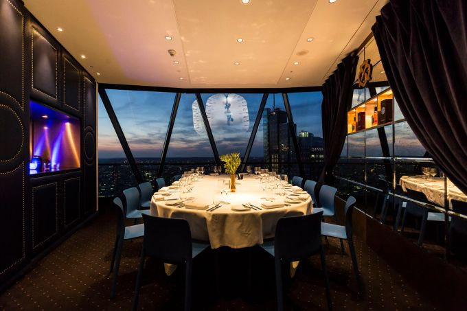 panoramic private dining rooms London city
