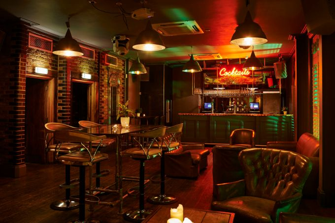 First Floor Bar, The Driver, unusual party venues London