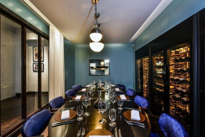 magnum private dining room london city