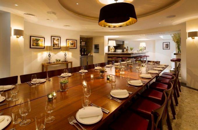 Barrafina, Adelaide Street, private dining soho