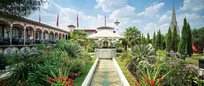 Roof Gardens, Kensington Roof Gardens, summer party venues london