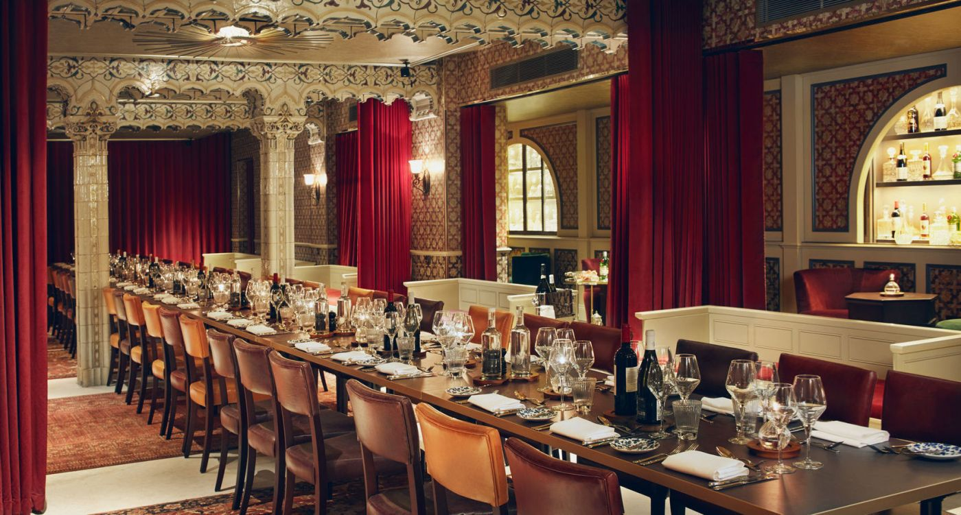 Bathhouse private dining liverpool street