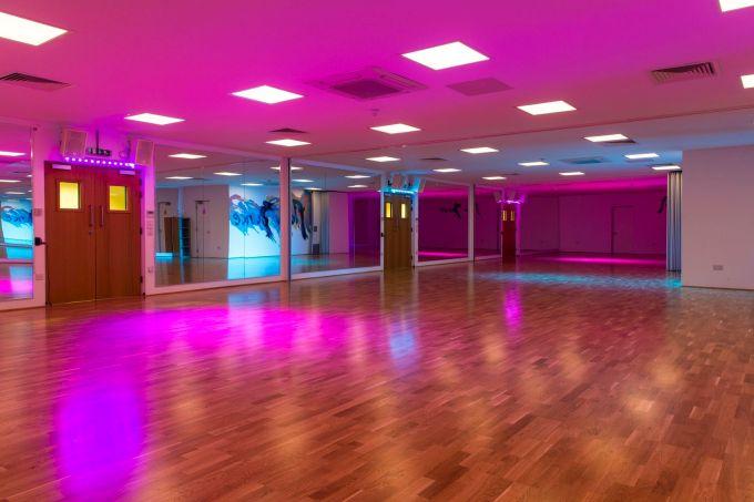 Purple flow dance studios in London