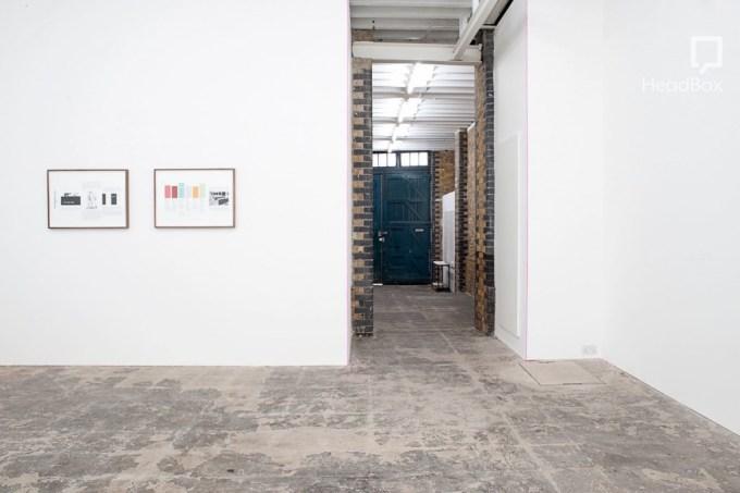 cement floored studio at hollybush