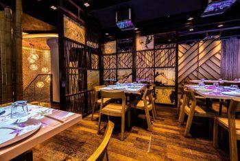 interactive dining tables at inamo