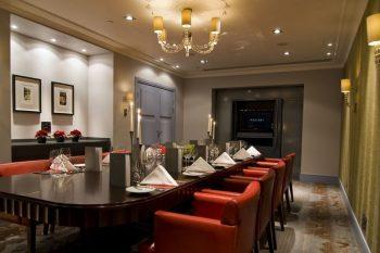 elegant private dining rooms London