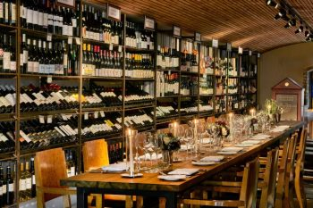 wine cellar private dining rooms London