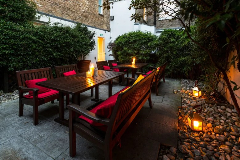 venue in london with outdoor space