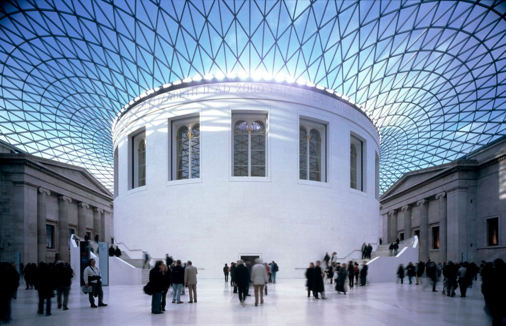 The British Museum is a historic London venue