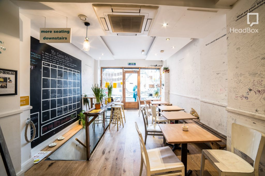 wooden floored creative space in London