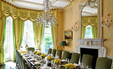 luxurious wimborne private dining rooms london