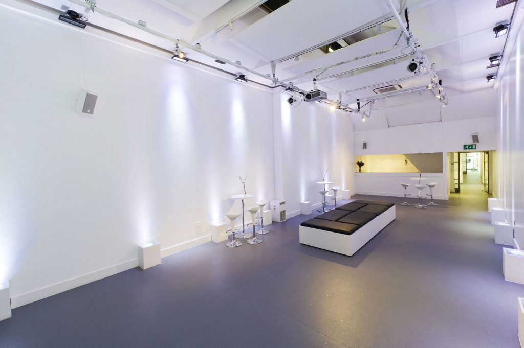 creative white gallery studio space