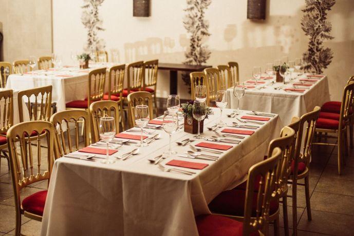 Private dining rooms Edinburgh