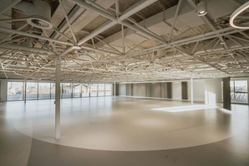 large blank canvas event space