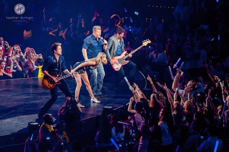 Taylor Swift Concert, Red Tour, Bridgestone Arena