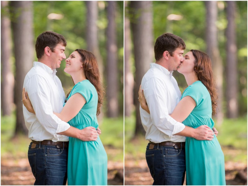 Lindsey & Darren's Engagement Session at Oak Mountain