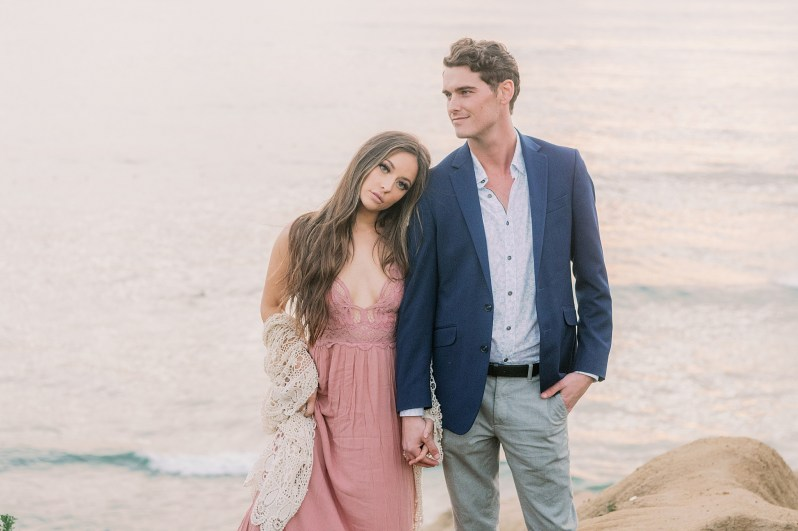 Hannah & Dean's Engagement Session in San Diego CA by Heather Durham Photography