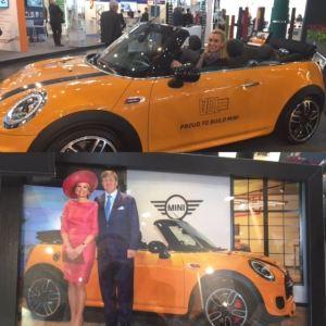 """Der """"Königs-Mini"""" in der Nationalfarbe """"Oranje"""""""