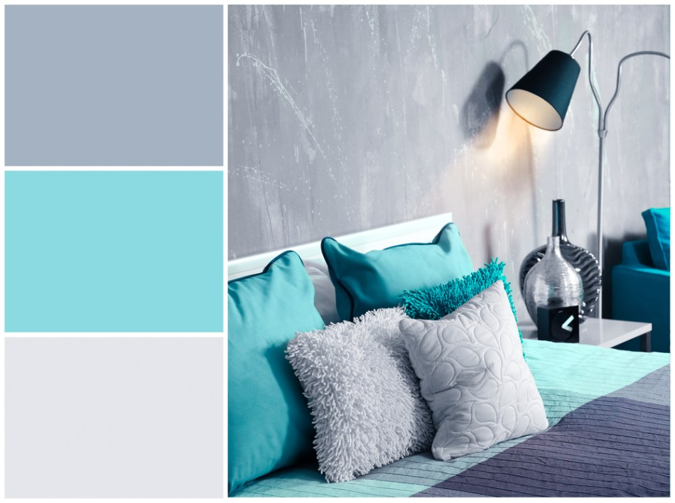 room that uses a color pallette