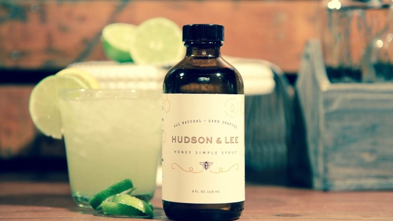 Greta McCoy, owner of Hudson & Lee Honey Simple Syrup