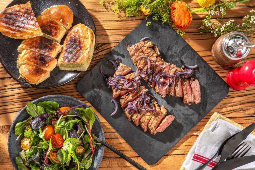 father's day steakhouse dinner at home