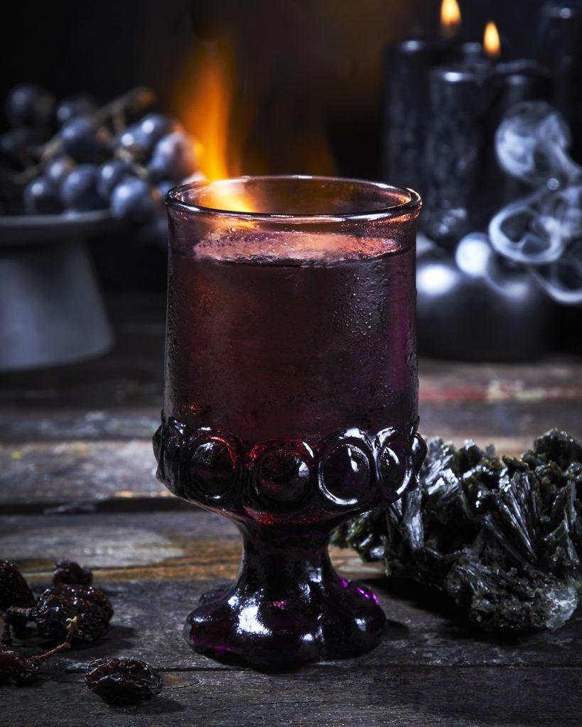 flaming halloween drink recipe