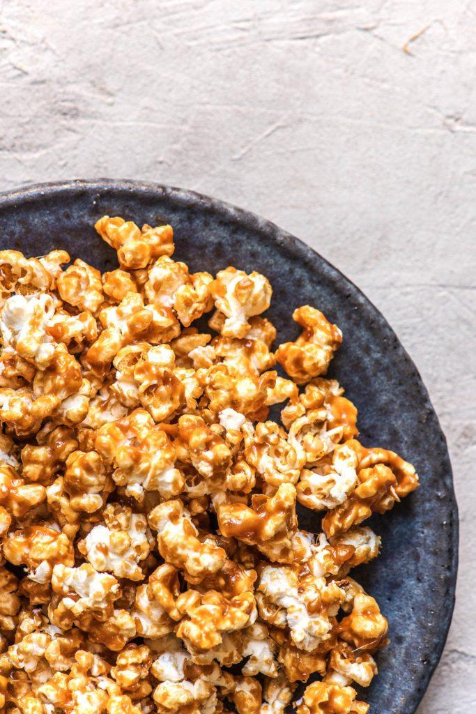 Popcorn selber machen: Salted Caramel