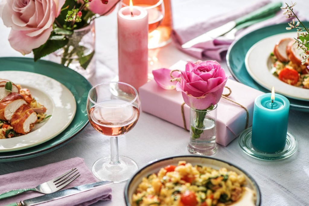romantic home cooked meals
